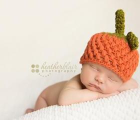 Baby boy pumpkin hat halloween costume